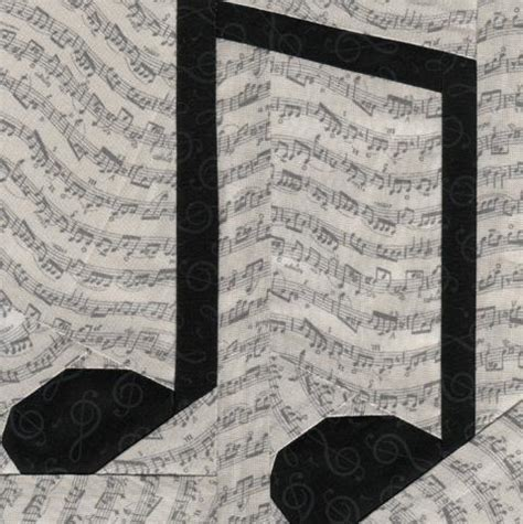 music notes pattern free music notes 7 quot by soma1773 quilting pattern