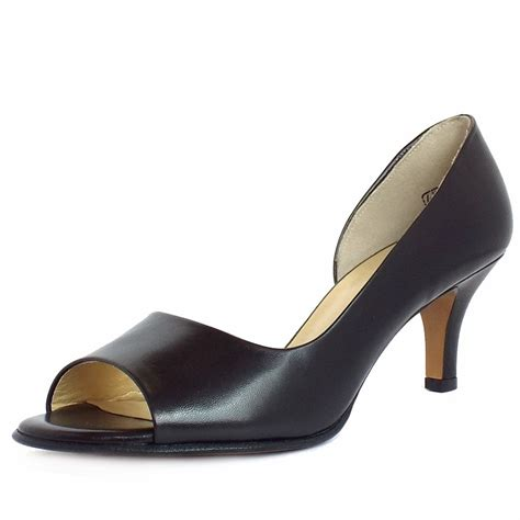 shoes with toes kaiser jamala updated iconic style in black