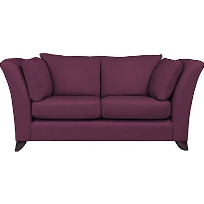 plum couch hartfield large sofa plum velvet dark feet