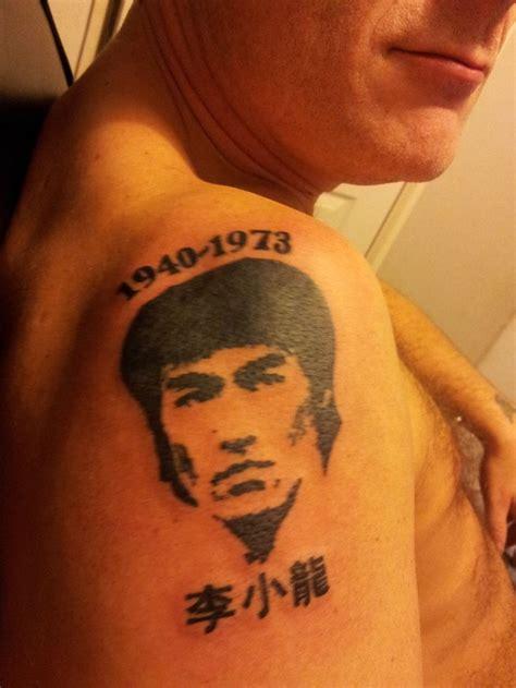 bruce lee tattoo my darrins bruce tats