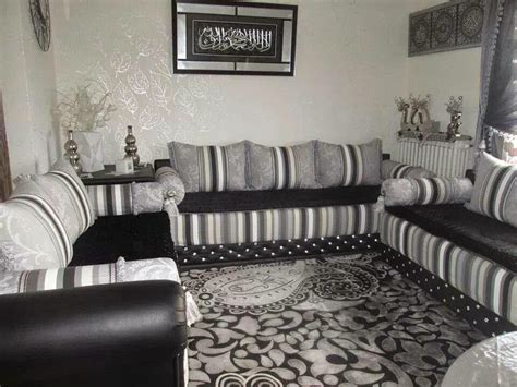 conrav salon design gris noir