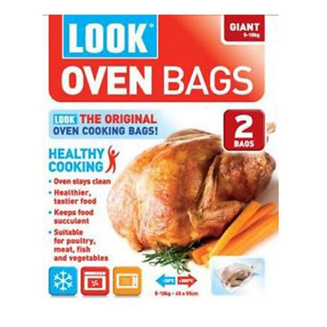 oven bags roasting cooking chicken turkey large look
