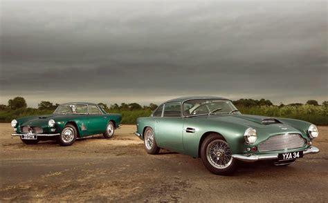 Aston Martin Or Maserati by Aston Martin Db4 Vs Maserati 3500gt Road Test Drive