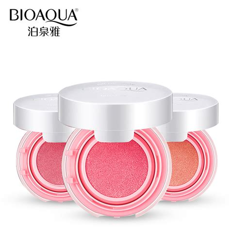 Harga Loreal Blush Cushion bioaqua blush on cushion smooth and flawless cheek elevenia