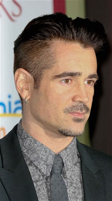 type beard royale hair and beard styles colin farrell short haircut