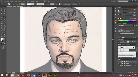 illustrator tutorial digital painting how to create digital art and marker style portrait with