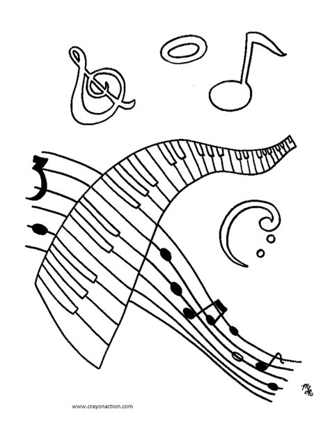 Musical Notes Coloring Pages Az Coloring Pages Notes Coloring Page