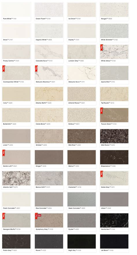 caesarstone colors caesarstone countertops colors best home design 2018