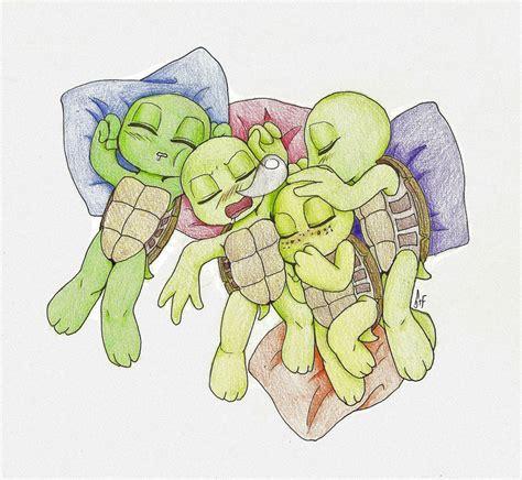 baby mutant turtles by kuramaloverbunny on deviantart