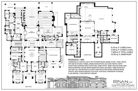 house plans over 20000 square feet 20 000 sq ft home plans escortsea