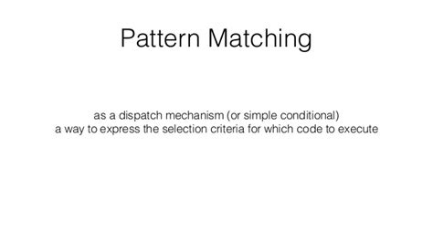 Pattern Matching And Unification | the logical burrito pattern matching term rewriting and