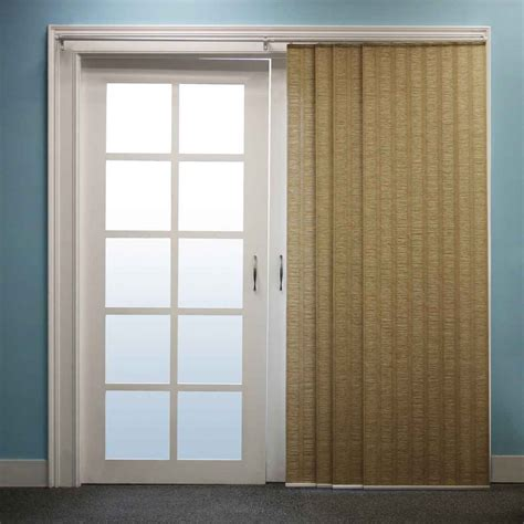 Sliding Panel Blinds Vertical Blind For Decorate Terrace Door Knowledgebase