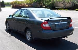 2002 Toyota Camery 2002 Toyota Camry Le Priced To Sell