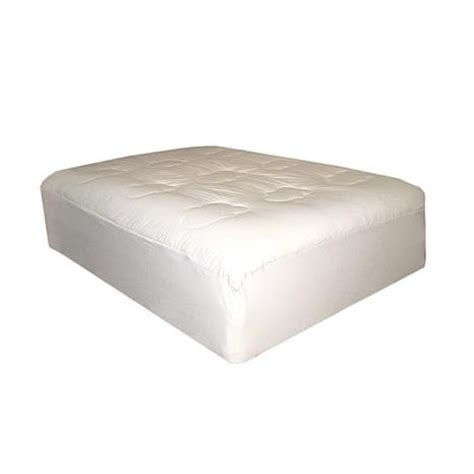 home design california king mattress pad lofted cotton filled california king mattress pad