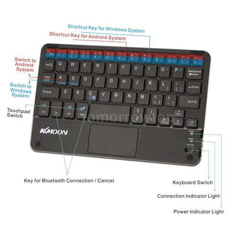 Touchpad Pc mini bluetooth wireless keyboard touchpad for pc
