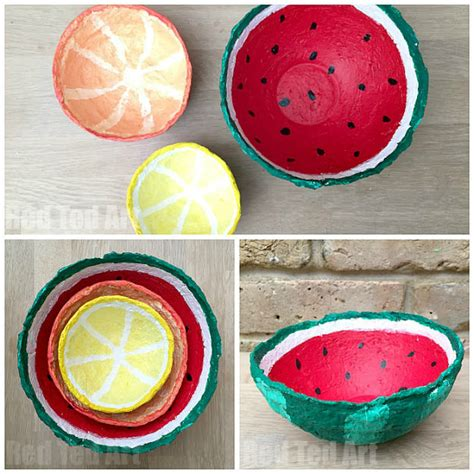 Things To Make Out Of Paper Mache - 30 summer crafts that are easy and to make diy projects