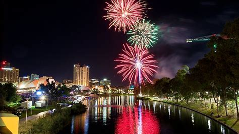 new year fireworks adelaide nye in adelaide just not cricket for waugh spblog