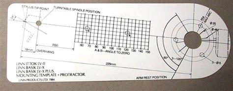 print rega protractor wtb linn alignment protractor