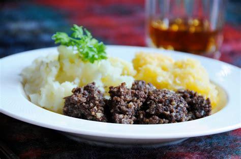 haggis  special dish   special occasion
