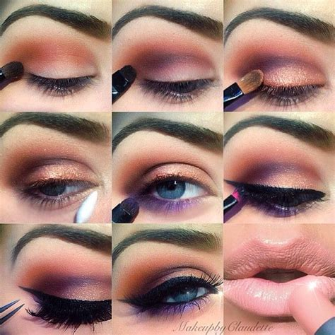 tutorial makeup peach step by step eye makeup pics my collection makeup
