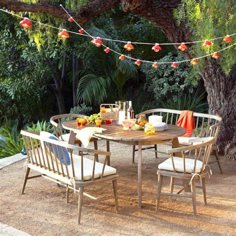 Garden Furniture Decor Best Patio Decoration Idea With Magnificent Furniture Of Table And Chairs Made Of Wodeen