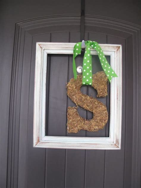 out with the old in with the spring 5 diy door decorations