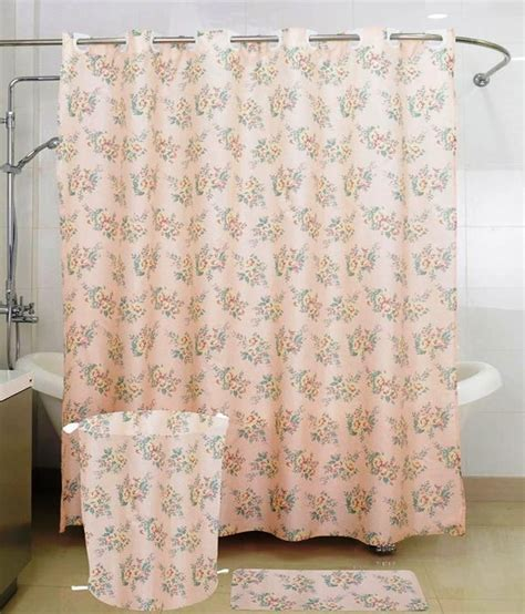welspun curtains skap beige polyester shower curtain best price in india on