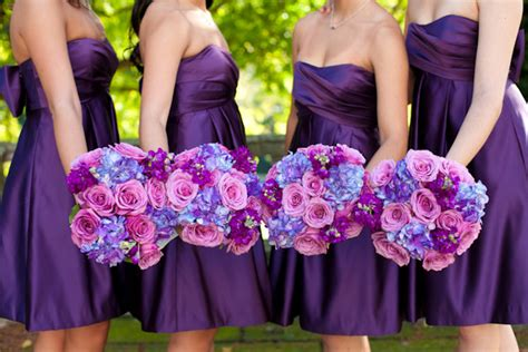 colors that go well with purple which colors blend well with purple weddingbee