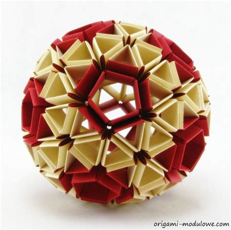 origami geometric tutorial modular origami ball 1 by origamimodulowe on deviantart