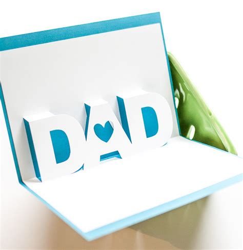3d S Day Card Template by S Day 3d Card Allfreepapercrafts