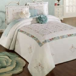 flowered comforters precious peony floral king bedspread bedding