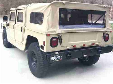 1993 hummer h1 replacement cam purchase used 1993 hummer h1 tan in mousie kentucky united states for us 30 000 00