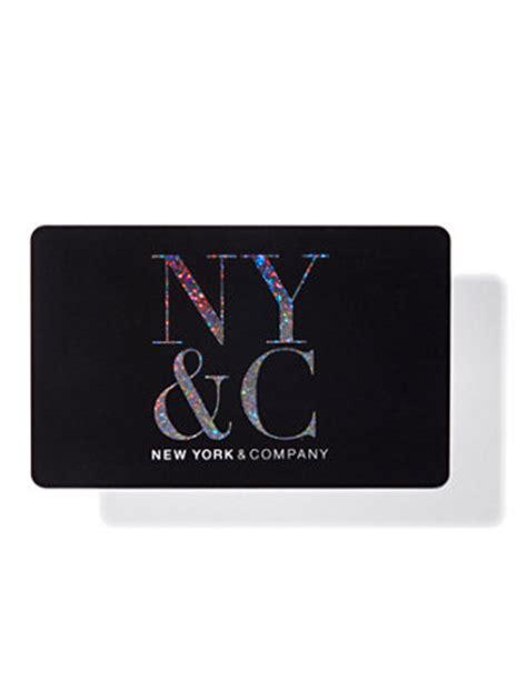 Gift Cards Nyc - ny c ny c gift card black