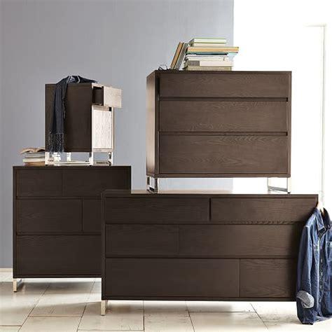 Hudson 6 Drawer Dresser by Hudson 6 Drawer Dresser Chocolate West Elm