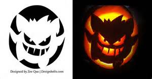 free printable scary pumpkin carving pattern designs 5 free scary pumpkin carving patterns stencils