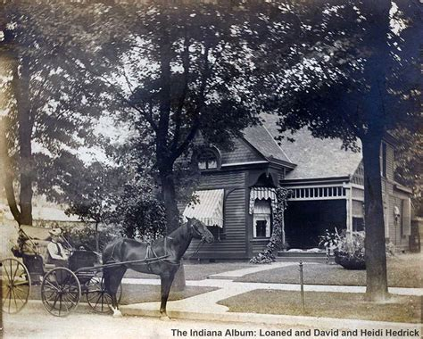 The Cottages Indianapolis by Indianapolis Then And Now The Thompson Mesker Cottage