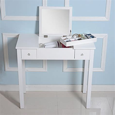 Vanity Table L Organizedlife Wooden Makeup Vanity Table Mirror Dressing Table Kitchen In The Uae See Prices