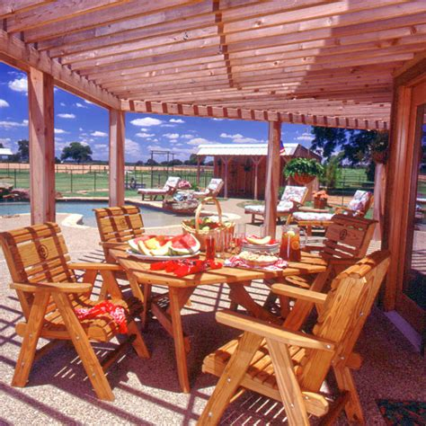 woodwork log cabin outdoor furniture pdf plans