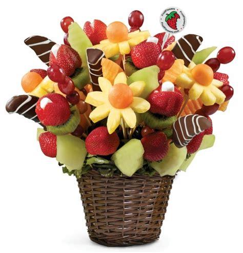 m s fruit basket bouquet de fleurs original aux fruits