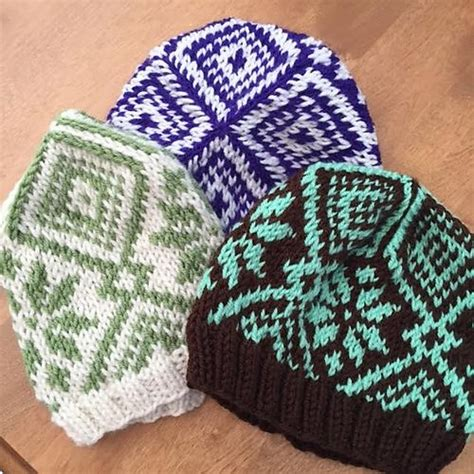 free fair isle knitting patterns ravelry fair isle hat free pattern by emily dormier