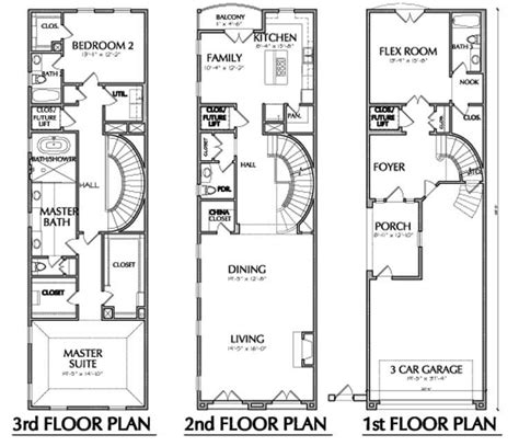 narrow floor plans narrow townhouse floor plans www imgkid the image