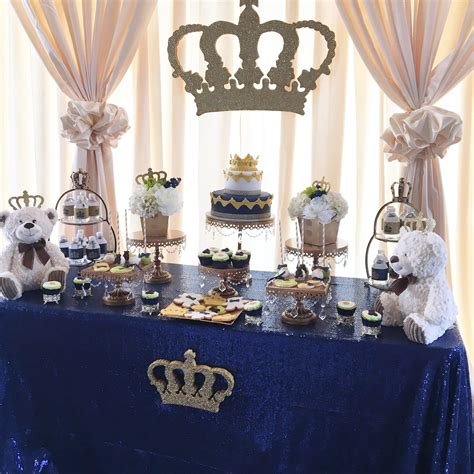 King Theme For Baby Shower by A Royal Prince Or King Themed Baby Shower Time