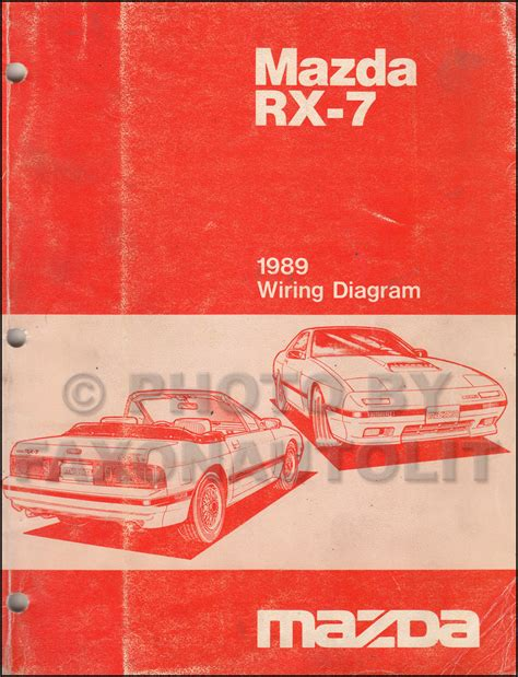 hayes auto repair manual 1989 mazda rx 7 electronic throttle control 1989 mazda rx 7 wiring diagram manual original rx7