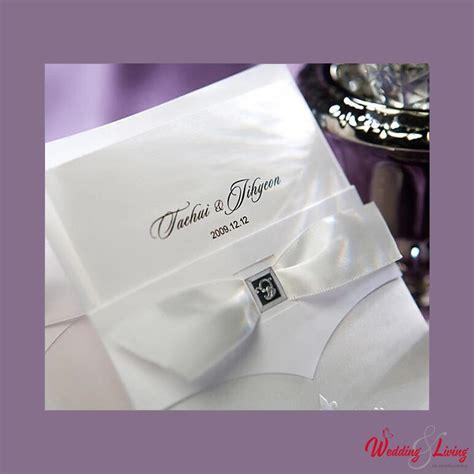Einladungskarten Hochzeit Wei by Einladungskarte 3 Tlg Weiss Satin