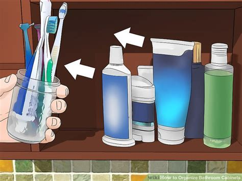how to organize bathroom cabinets how to organize bathroom cabinets 13 steps with pictures