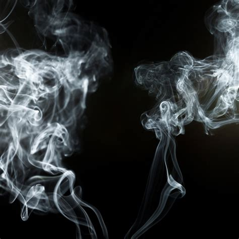 The Black Effect black background with smoke effect photo free