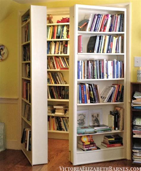 Closet Door Bookshelf Bookcase Closet Door Woodworking Projects Plans