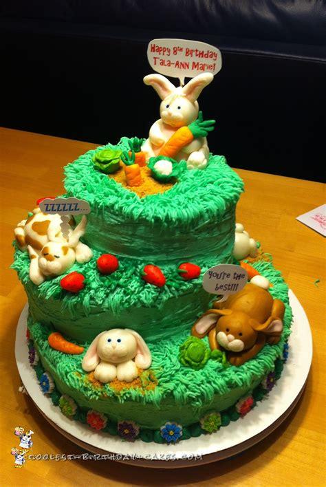 coolest birthday cakes coolest bunny birthday cake
