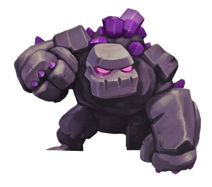 Golem Clash Of Clans golem coc gowipe attack costumes clash of