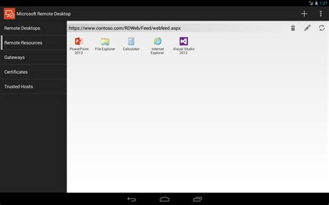 remote desktop android new app microsoft releases remote desktop client for android